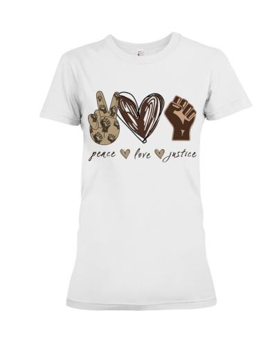 Peace - Love - Justice