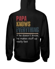 Papa know Everything Hooded Sweatshirt tile