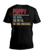 Poppy The Man The Myth The Bad Influenci V-Neck T-Shirt thumbnail