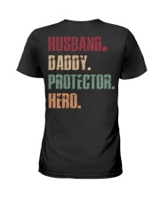 Husband Daddy Protector Hero Ladies T-Shirt tile