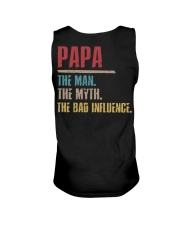 Papa The Man The Myth The Bad Influenci Unisex Tank thumbnail