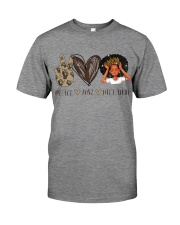Peace - Love - Melanin Premium Fit Mens Tee thumbnail