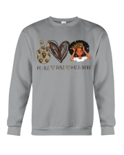 Peace - Love - Melanin Crewneck Sweatshirt thumbnail