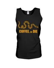Coffee or Die Unisex Tank thumbnail