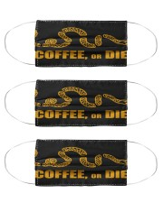 Coffee or Die Cloth Face Mask - 3 Pack thumbnail