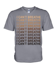 I can't breathe V-Neck T-Shirt thumbnail
