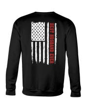 American Flag Husband Crewneck Sweatshirt thumbnail
