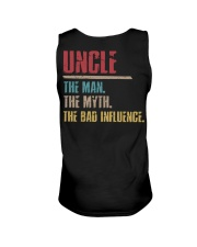 Uncle The Man The Myth The Bad Influenci Unisex Tank thumbnail