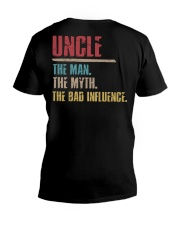 Uncle The Man The Myth The Bad Influenci V-Neck T-Shirt thumbnail