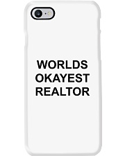 Worlds Okayest Realtor Phone Case thumbnail
