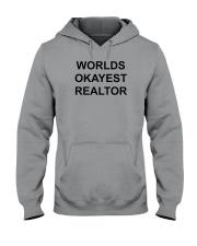 Worlds Okayest Realtor Hooded Sweatshirt thumbnail