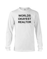 Worlds Okayest Realtor Long Sleeve Tee thumbnail