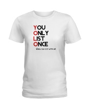 YOLO - You Only List Once Ladies T-Shirt thumbnail