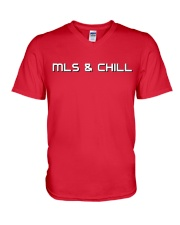 MLS and Chill V-Neck T-Shirt thumbnail