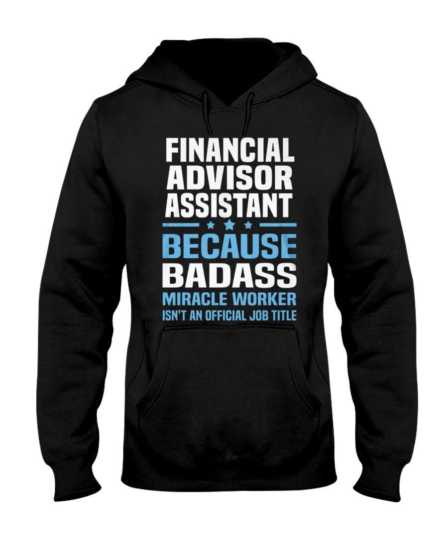 Financial Advisor Assistant Tshirt 191030 Hooded Sweatshirt