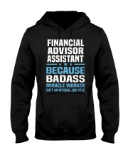 Financial Advisor Assistant Tshirt 191030 Hooded Sweatshirt thumbnail