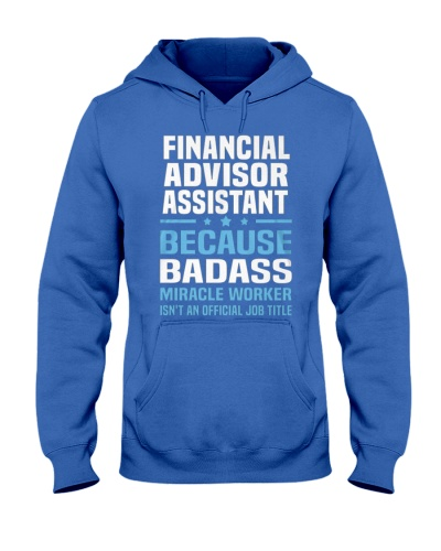 Financial Advisor Assistant Tshirt 191030