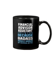 Financial Advisor Assistant Tshirt 191030 Mug tile