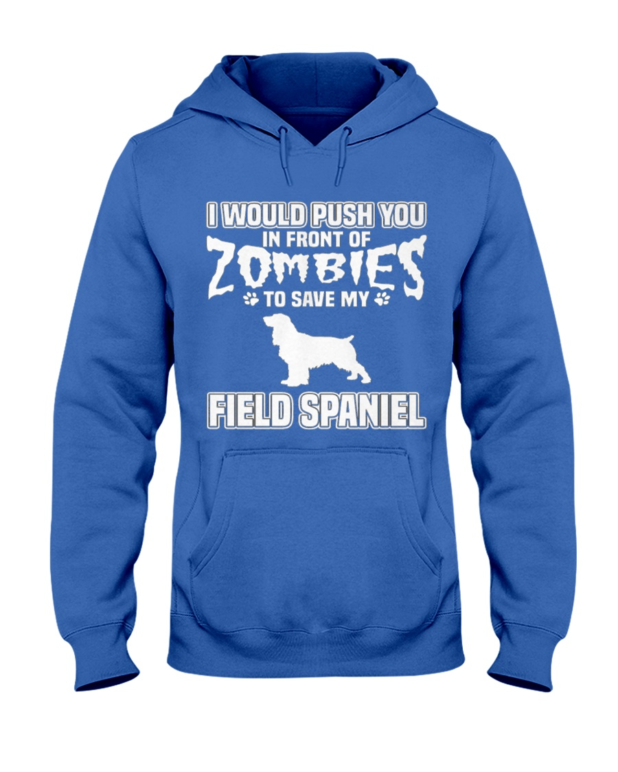 Field Spaniel MenX27S Pr 45 Hooded Sweatshirt