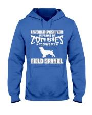 Field Spaniel MenX27S Pr 45 Hooded Sweatshirt front