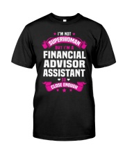 Financial Advisor Assistant Tshirt 191022 Classic T-Shirt thumbnail