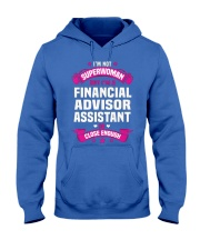 Financial Advisor Assistant Tshirt 191022 Hooded Sweatshirt front