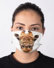 Giraffe Mask Cloth face mask aos-face-mask-lifestyle-01