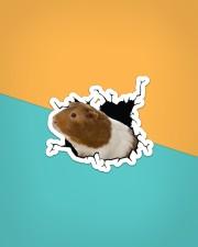 Guinea pig Crack Sticker - Single (Horizontal) aos-sticker-single-horizontal-lifestyle-front-02