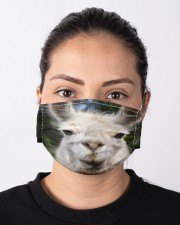 Llama mask Cloth face mask aos-face-mask-lifestyle-01