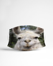 Llama mask Cloth face mask aos-face-mask-lifestyle-22