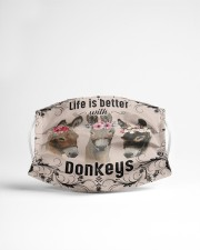 Life is better with Donkeys-mask Cloth face mask aos-face-mask-lifestyle-22