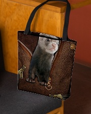 Nice Ferret All-over Tote aos-all-over-tote-lifestyle-front-02