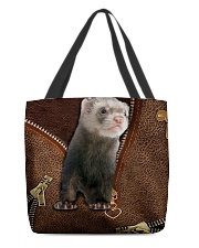 Nice Ferret All-over Tote back