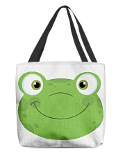 Frog mask All-Over Tote tile