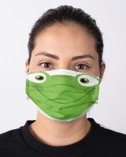 Frog mask Cloth face mask aos-face-mask-lifestyle-01