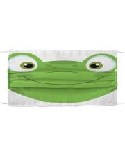 Frog mask Cloth face mask front