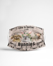 Life is better with Bunnies-mask Cloth face mask aos-face-mask-lifestyle-22