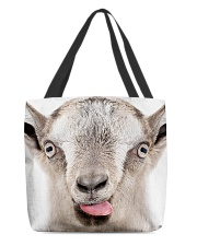 Goat mask All-Over Tote tile