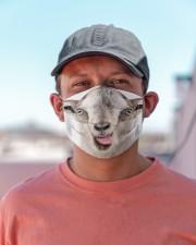 Goat mask Cloth face mask aos-face-mask-lifestyle-06