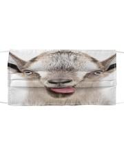 Goat mask Cloth face mask front