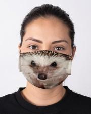 Hedgehog mask Cloth face mask aos-face-mask-lifestyle-01