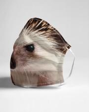 Hedgehog mask Cloth face mask aos-face-mask-lifestyle-21