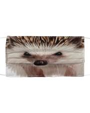 Hedgehog mask Cloth face mask front
