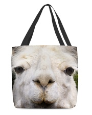 Llama mask All-Over Tote tile