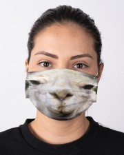 Llama mask Cloth face mask aos-face-mask-lifestyle-01