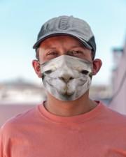 Llama mask Cloth face mask aos-face-mask-lifestyle-06