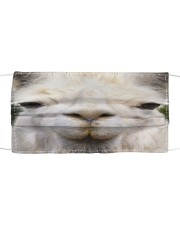 Llama mask Cloth face mask front