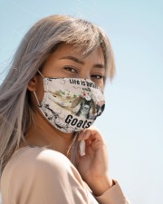 Life is better with Goats-mask Cloth face mask aos-face-mask-lifestyle-19