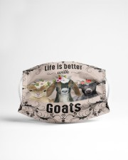 Life is better with Goats-mask Cloth face mask aos-face-mask-lifestyle-22