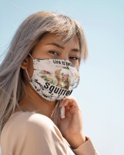 Life is better with Squirrels-mask Cloth face mask aos-face-mask-lifestyle-19